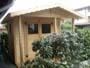 Casetta con veranda all'ingresso