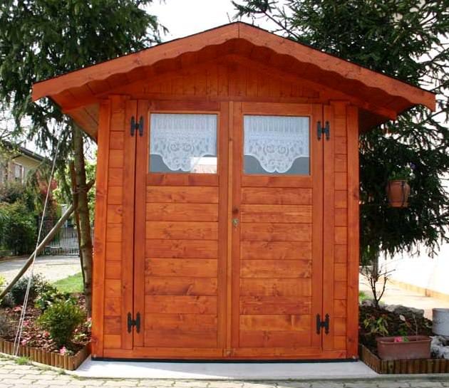 casetta 2x3 con doppia porta