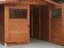 casetta garage porta aperta