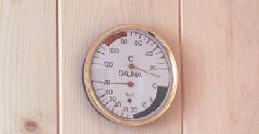 termoigrometro luxcombi vetro /acciaio