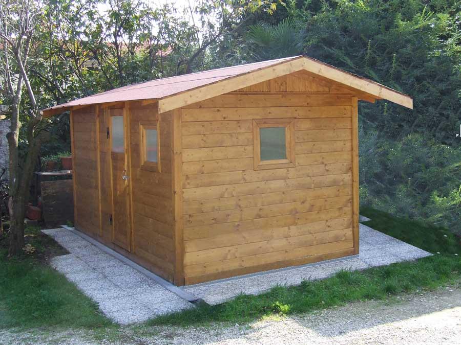 Casetta di legno per attrezzi - Edil Legno