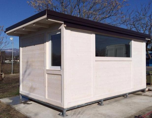 casa prefabbricata uso ufficio