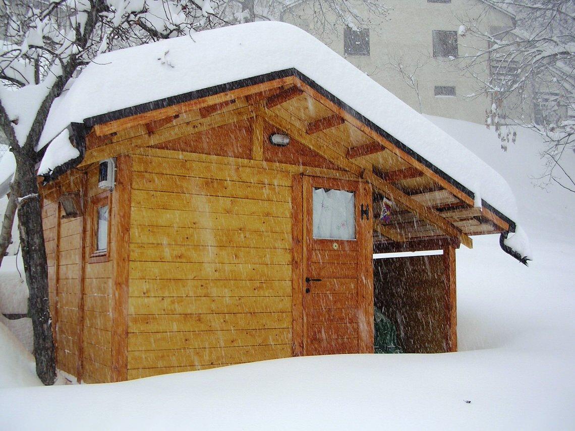 casetta alte cime con veranda 2017