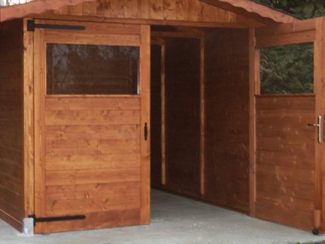 Casetta Garage - Casetta in legno 3x5