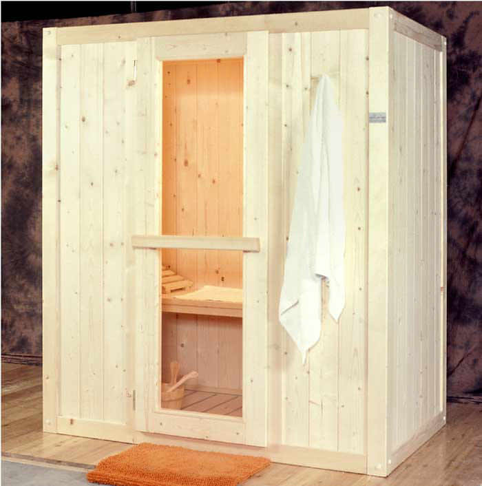 Sauna Easy 180x110 in abete finlandese