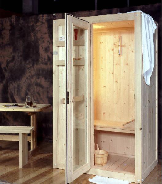 Sauna Easy 140x95 in abete finlandese