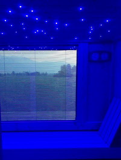 sauna mille e una notte con cielo stellato 2018