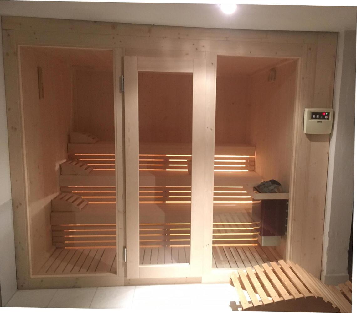sauna vintage su tre livelli mod. sporting