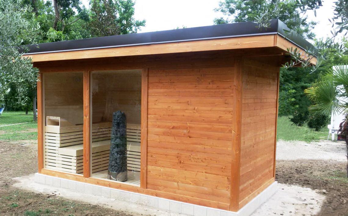 sauna da esterno atlantic 2018