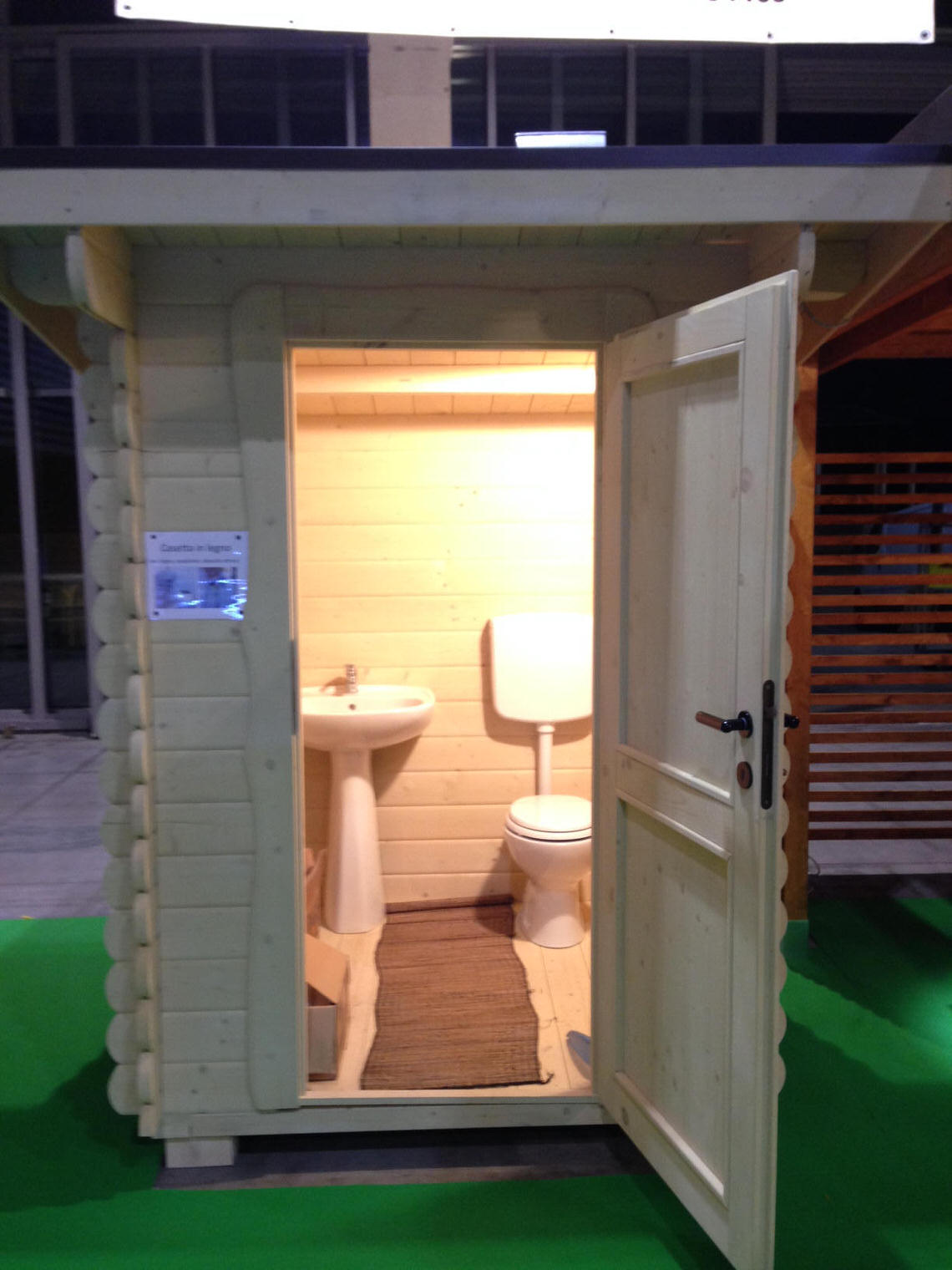 Bagno Esterno In Giardino casette in legno prefabbricate, casette da giardino - edillegno