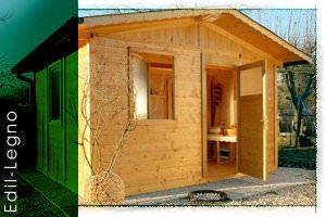 Casette in legno prefabbricate - EdilLegno