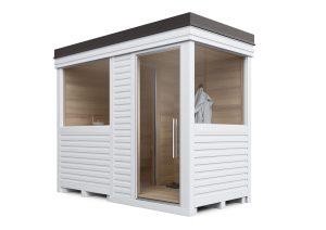sauna piccola per giardino