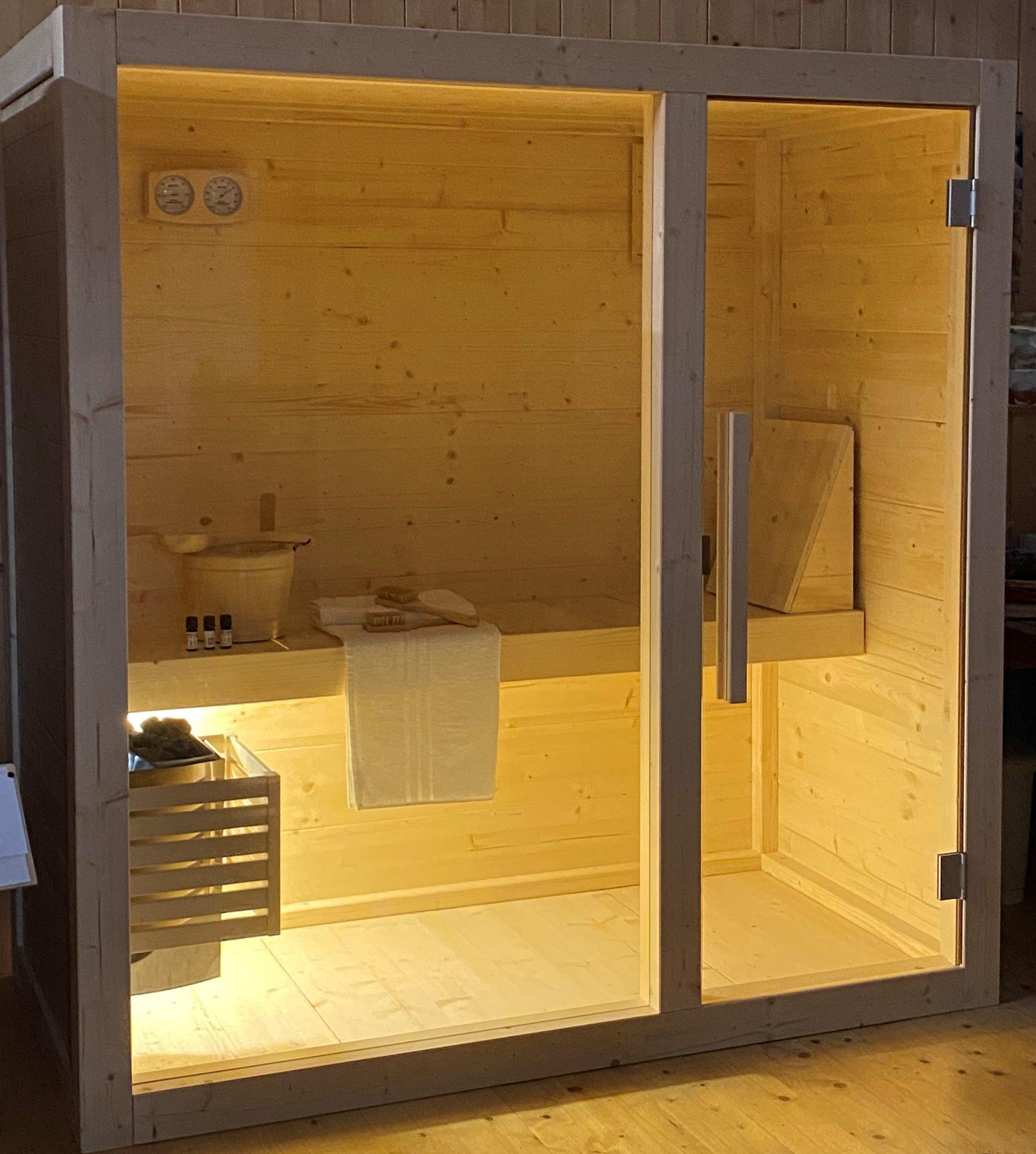 sauna per appartamento